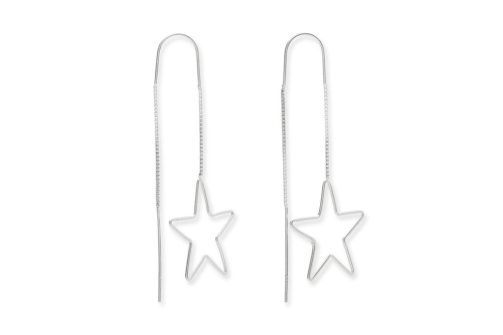 Ferguson Silver Star Earrings