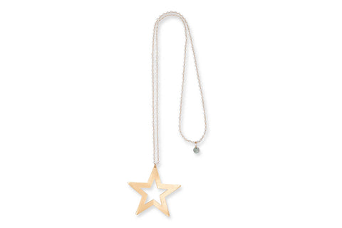 Eris Long Star Crystal Necklace