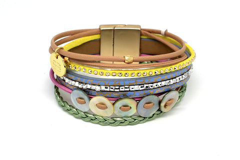 Gopher Multi-Coloured Magnet Bracelet