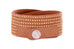 Heliconia Rose Gold 2 Wrap Bracelet