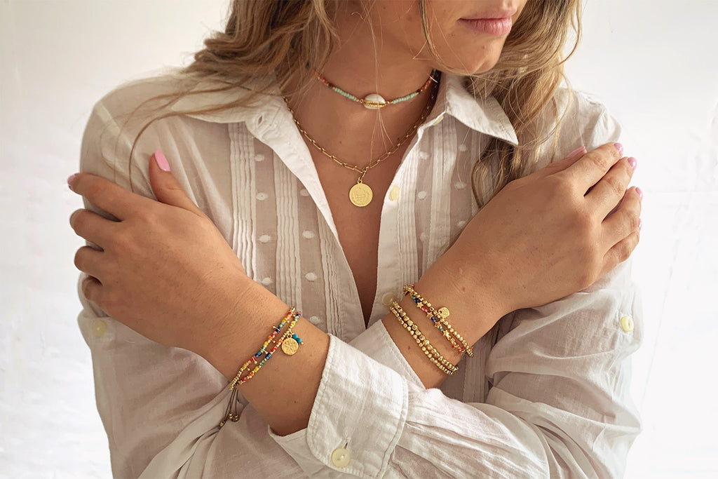 Rio Salada Multi Beaded Bracelet - Boho Betty