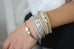 Jerboa Grey Leather Magnet Bracelet