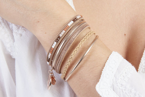 Shrew Rose Gold Magnet Bracelet