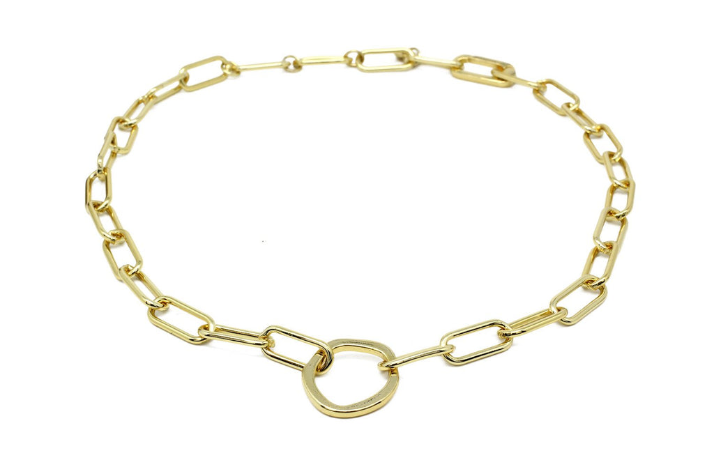 Eternity Gold Chunky Chain Necklace - Boho Betty