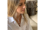 Tana Silver Multi Detachable Pendant Chunky Chain Necklace - Boho Betty