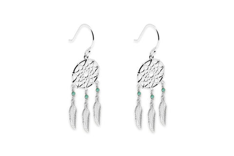 Shearer Silver Dreamcatcher Earrings