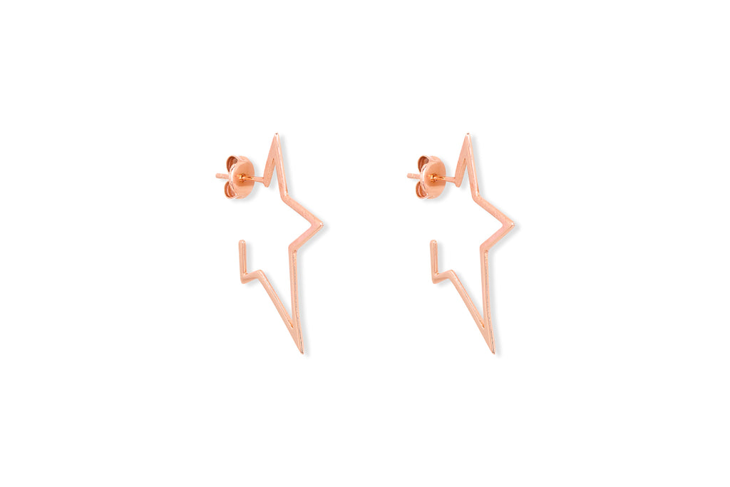 Sorvino Rose Gold Stud Earrings