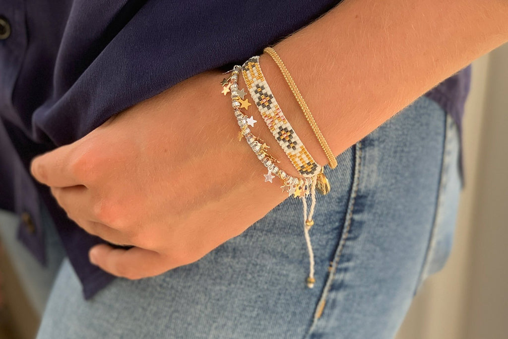 Banff II 3 Layered Bracelet Stack - Boho Betty