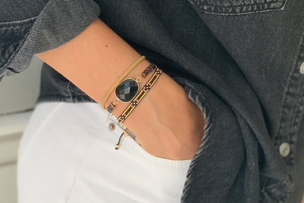 Budapest 3 Layered Bracelet Stack - Boho Betty