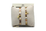 Casablanca 2 Layered Bracelet Stack - Boho Betty