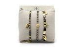 Guilin 3 Layered Bracelet Stack - Boho Betty