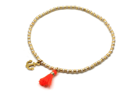 Street Gold Stretch Bracelet