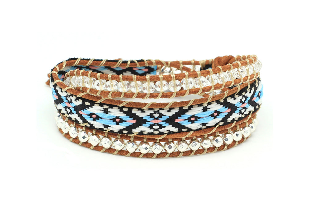 Time Warp 3 Wrap Bracelet