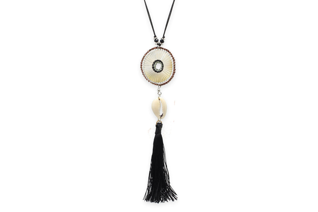 Urania Long tassel Necklace