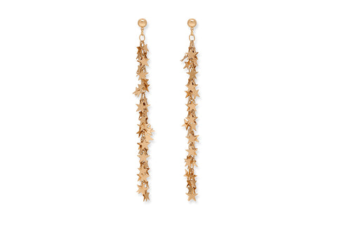 Vila Multi Star Drop Earrings