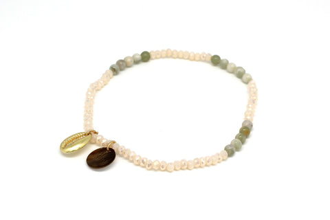 Waltz Shell Stretch Bracelet