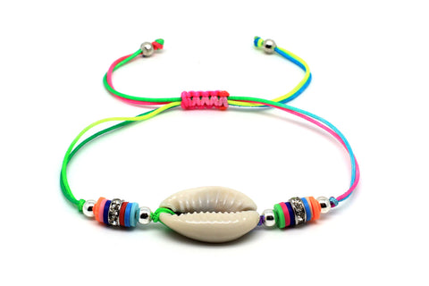Watusi Multicoloured Shell Bracelet