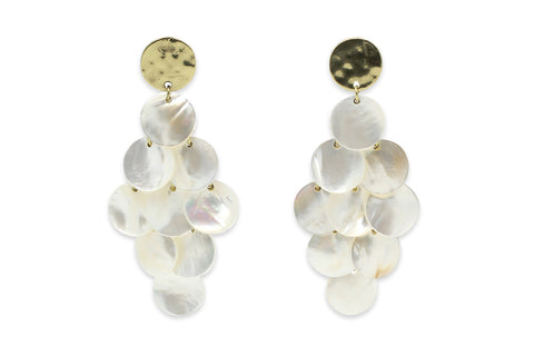 Yowla Mother of Pearl Earrings