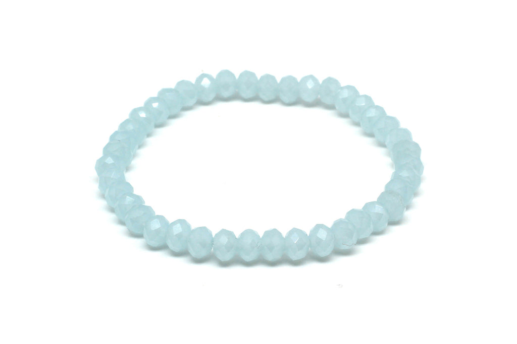 Reel2 Aqua Crystal Stretch Bracelet