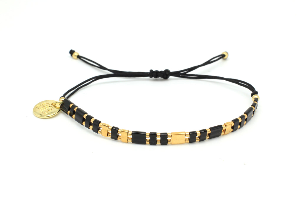 Believe Tila Bead Friendship Bracelet - Boho Betty