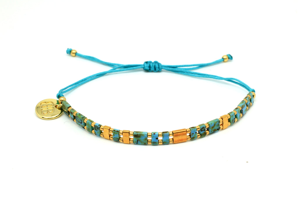 Emotions Tila Bead Friendship Bracelet - Boho Betty
