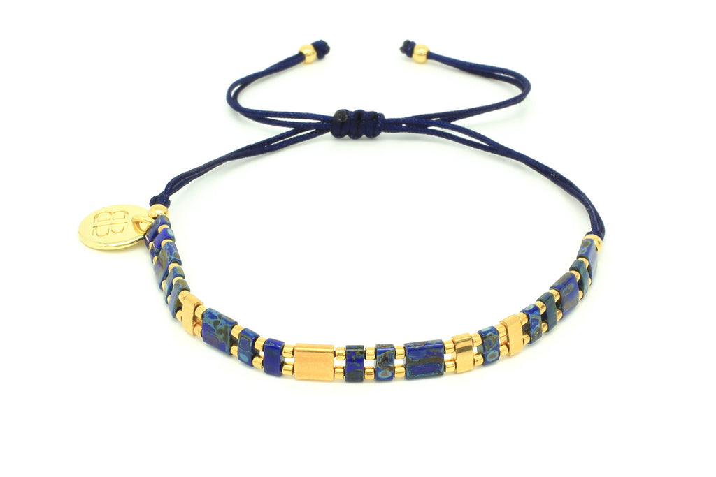 Escapade Tila Bead Friendship Bracelet