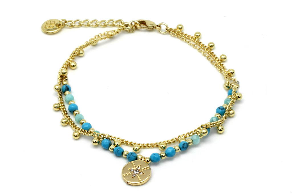 San Blas Blue Bracelet - Boho Betty