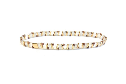 Reunited Tila Beaded Stretch Bracelet