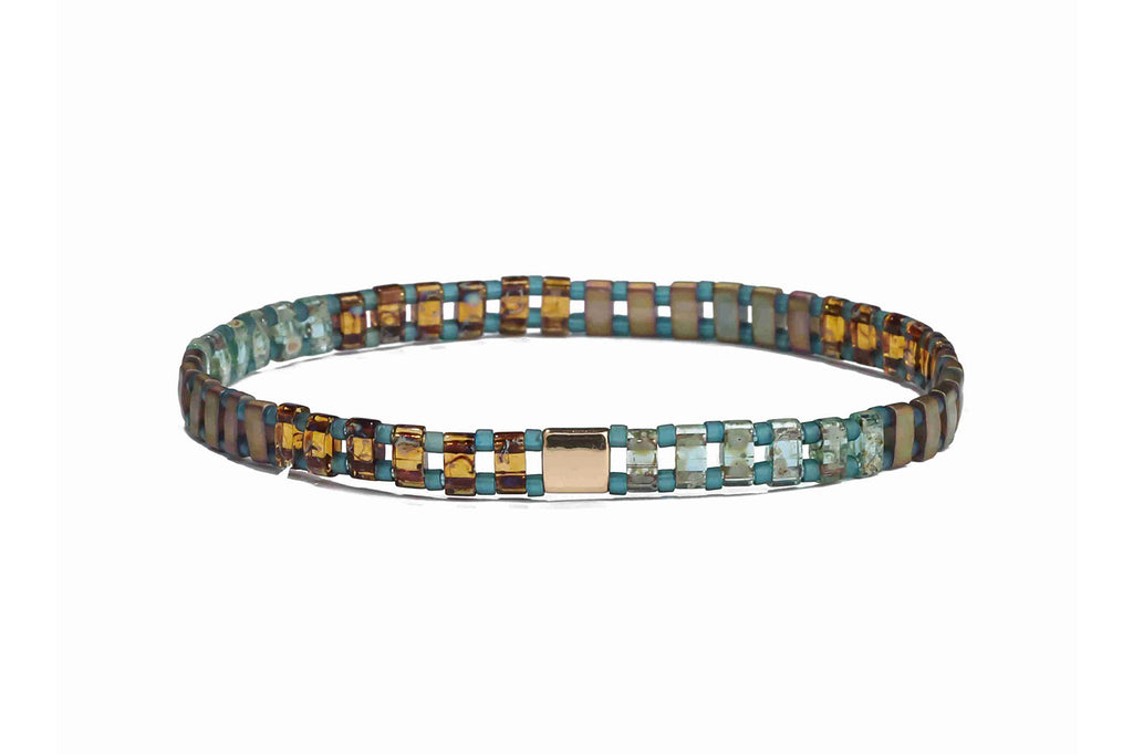 Vogue Tila Beaded Stretch Bracelet