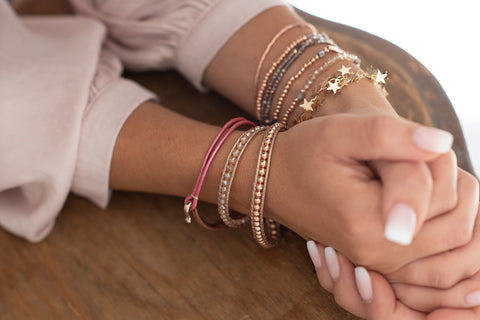 Golarion Rose Gold Friendship Bracelet