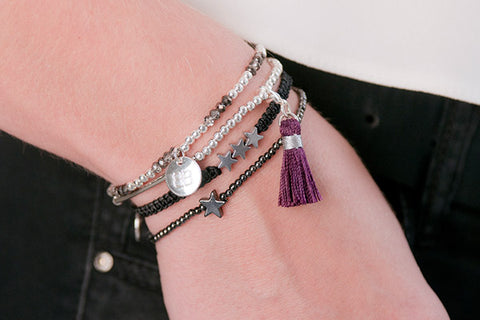 Cluny Abbey 3 Layered Bracelet Stack
