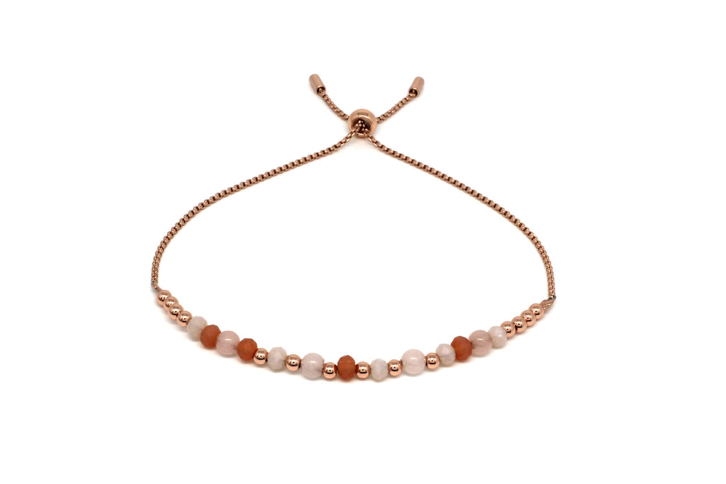 Foxtrot Rose Gold Crystal Bracelet