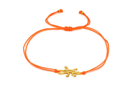 Jerkin Orange Gheko Friendhsip Bracelet