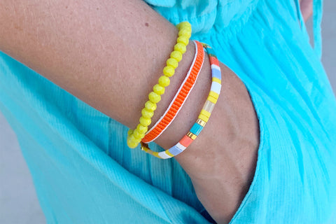 Elgon 3 Layer Bracelet Stack