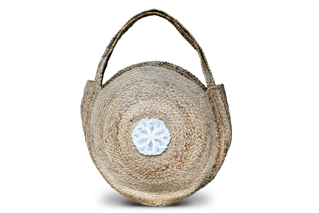 Farandole Round Beach Bag