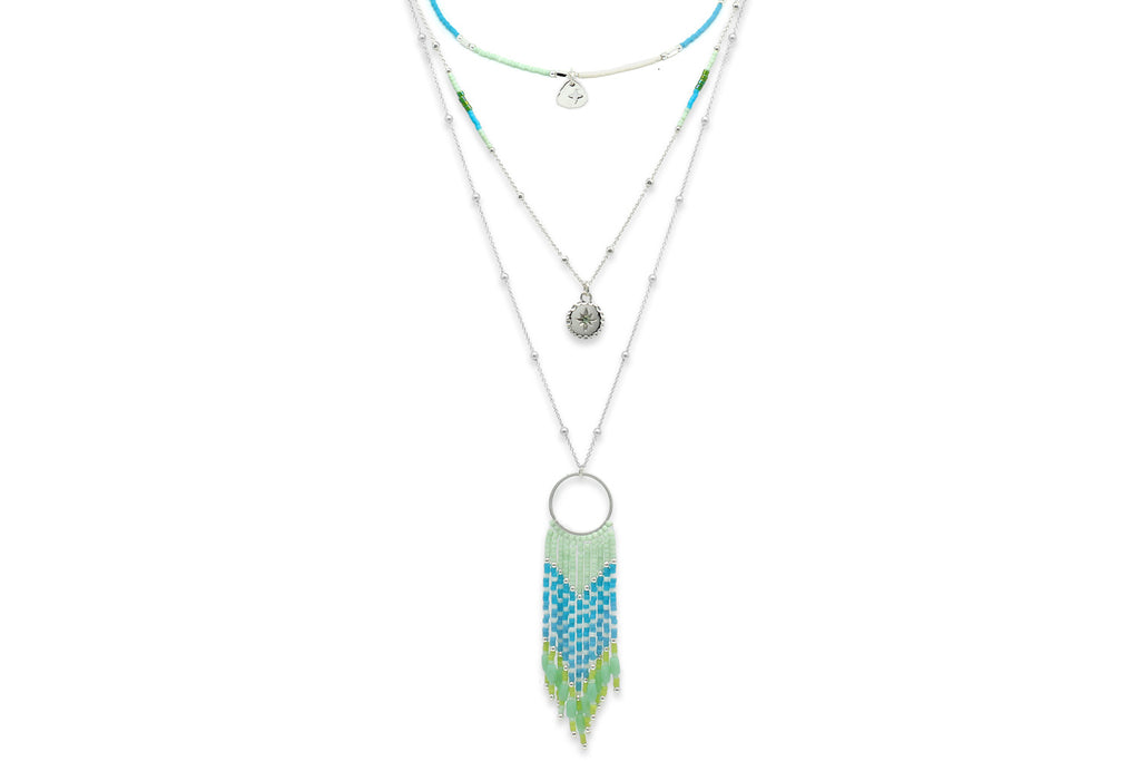 Niat Mint 3 Layering Necklace Set