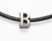 Leather Choker Letter Necklace