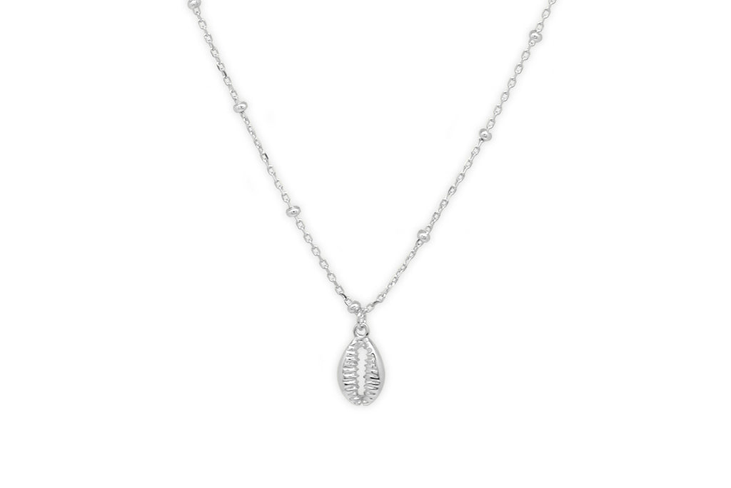 Bellini Silver Shell Necklace
