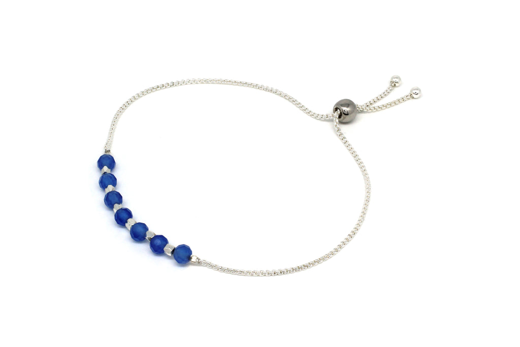 Paso Blue Crystal Friendship Bracelet