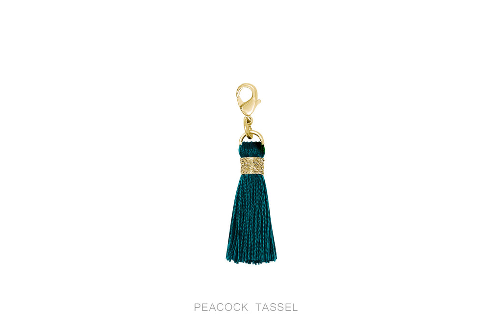 Individual Gold Mini Removable Tassels - Boho Betty