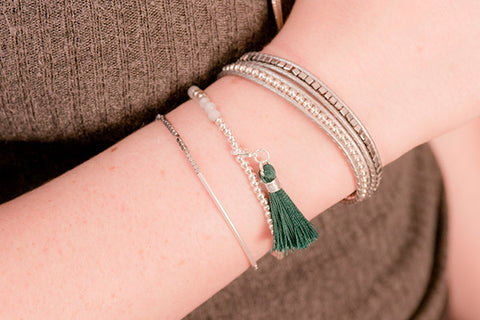 Snowdon 3 Layered Bracelet Stack