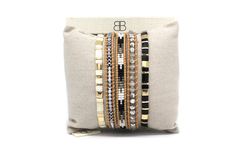Colossus 3 Layer Bracelet Stack