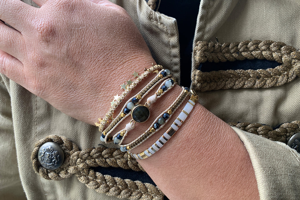 Houston 3 Layered Bracelet Stack