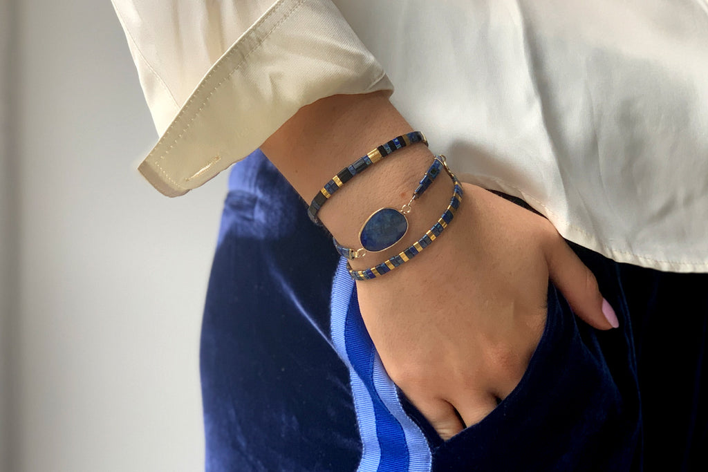 Cape Town 3 Layered Bracelet Stack - Boho Betty