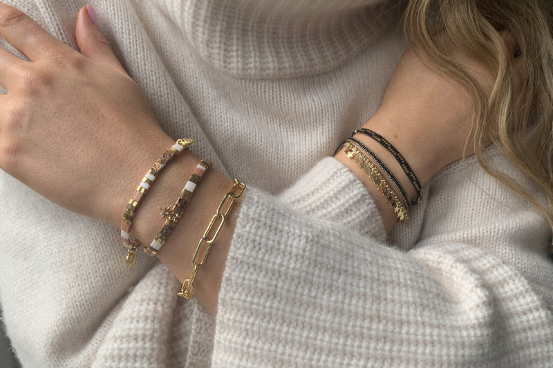 Engelberg 3 Layered Bracelet Stack - Boho Betty