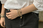 Izmur 3 Layered Bracelet Stack - Boho Betty