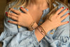 Romance 2 Layered Bracelet Stack - Boho Betty