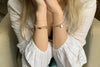 Cupid Rose Gold 2 Layered Bracelet Stack - Boho Betty