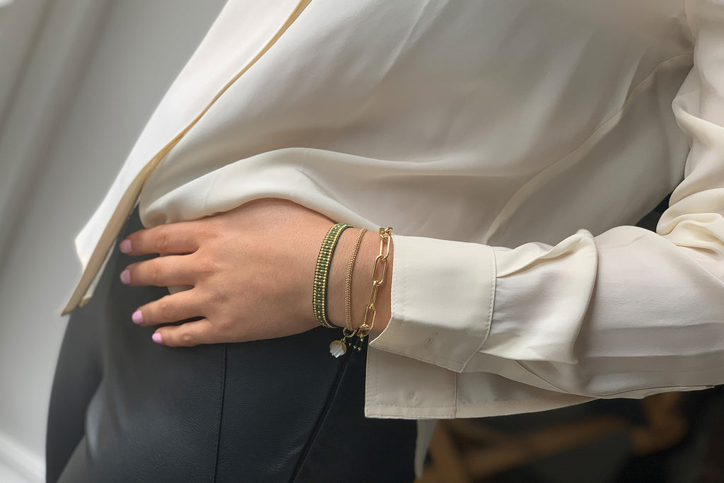 Toronto 3 Layered Bracelet Stack - Boho Betty