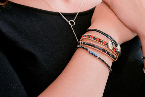 Zabriskie Point 3 Layered Bracelet Stack